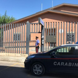 Carabinieri Stazione di Capoterra_davanti caserma