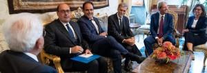 Crisi governo_Zingaretti da Mattarella