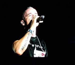 Eros Ramazzatti al Forte Arena di Pula il 10 Agosto 2019