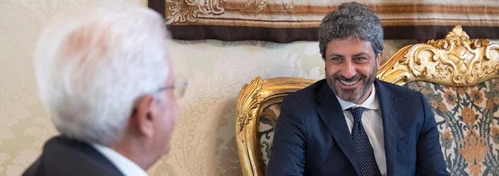 Mattarella con presidente Fico