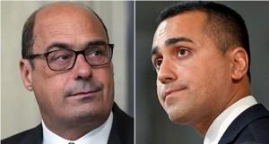 crisi di governo_cena tra Zingaretti e Di Maio