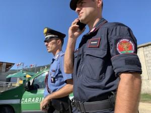 carabinieri e colleghi forestali dell'Arma