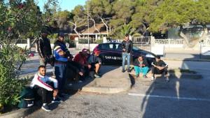 Algerini clandestini fermati dopo sbarco