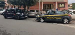 A Lanusei attivita' di carabinieri e Gdf della Tenenza di Artbatax