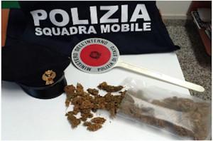Due arresti per droga a Oristano
