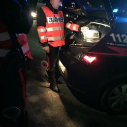 Controlli sulle strade dei carabinieri della compagnia di Valledoria