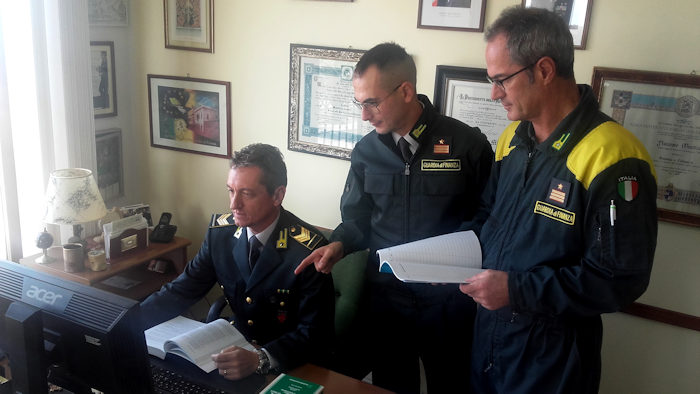 Gdf sezione aeronavale Alghero