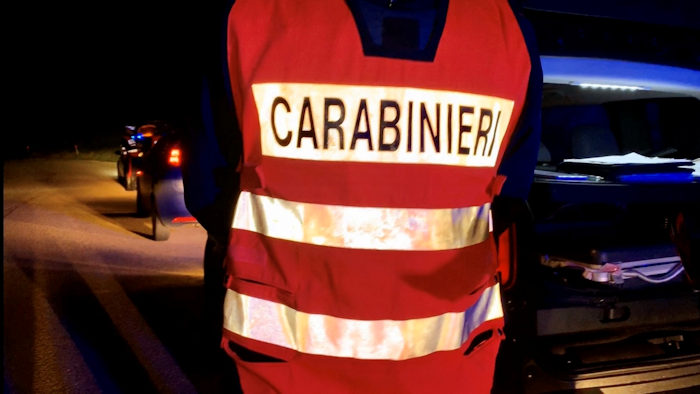 Controlli notturni dei carabinieri di Siniscola