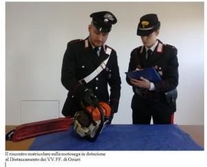 Denunciato dai carabinieri di Ozieri 37 enne della cittadina