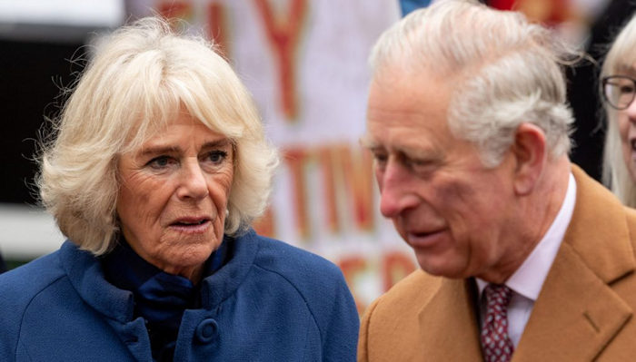 Nella foto i due bellissimi_ Camilla_ moglie e Carlo_ marito_ Per non confondere