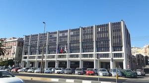 Palazzo Consiglio regionale sardo in via Roma