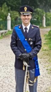 Commissario della Polizia di Stato Matteo Porceddu arrivato a Oristano
