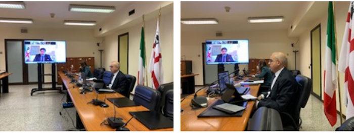 Michele Cossa in audizione al Senato su Insularita'