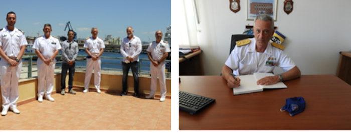 Visita del comandante generale del corpo delle capitanerie di porto2