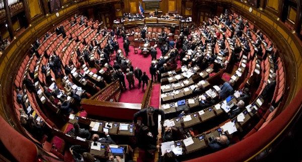 nuova immagine aula senato