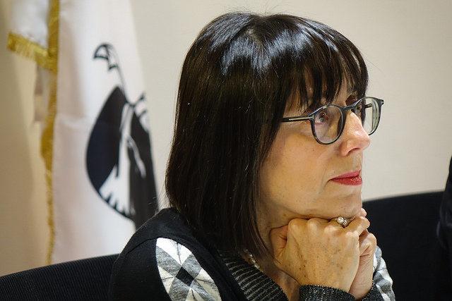 L'assessora con delega alla Protezione civile Donatella Spano