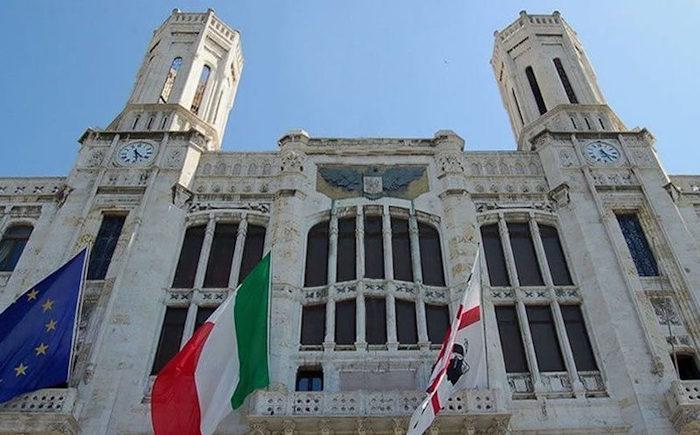 palazzo civico di via roma a Cagliari_comune