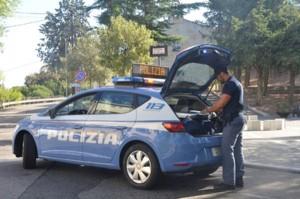 polizia_posto di blocco stradale