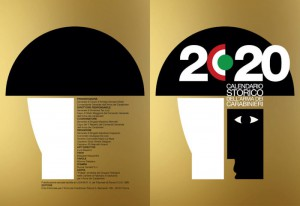 Copertina calendario carabinieri 2020