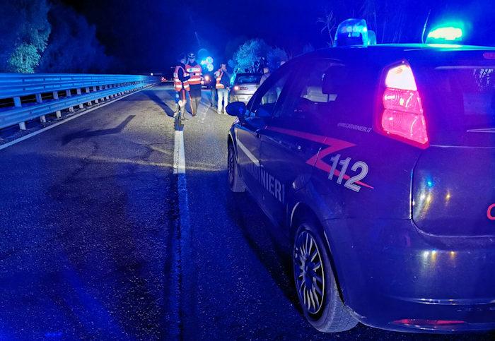incidente stradale vicino ad Ottana_ sul posto i carabinieri