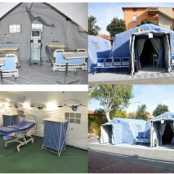 Tende ospedaei in Sardegna
