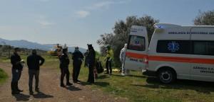 Tentato omcidio nell'oristanese_intervengono carabinieri Staz Suni